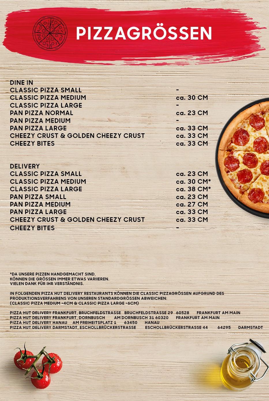 pizzagroessen