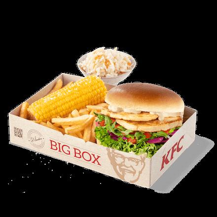 Burger Halloumi Box