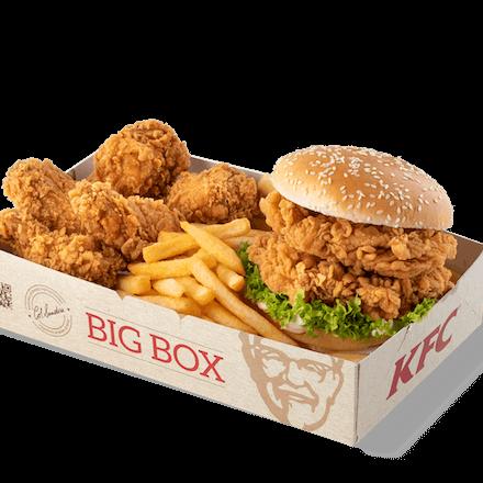 Zinger Burger Podwójny Box