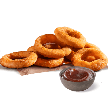 6 Onion Rings z dipem