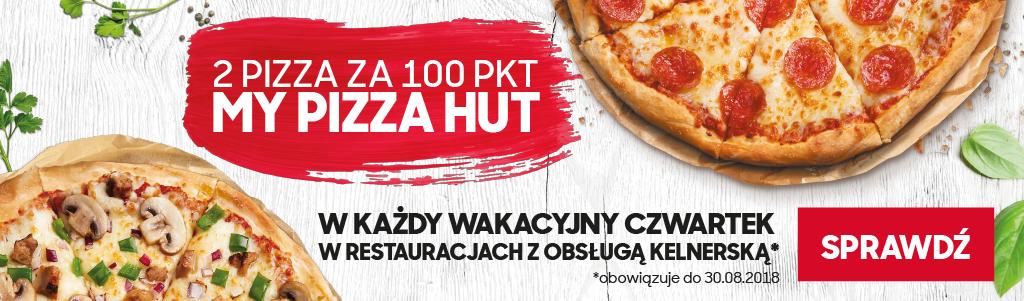 Pizza Day - 2 pizza za 100 pkt