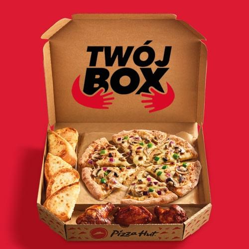 TWÓJ BOX - DOWOLNY SMAK PIZZY