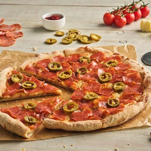 PIZZA HOT PEPPERONI