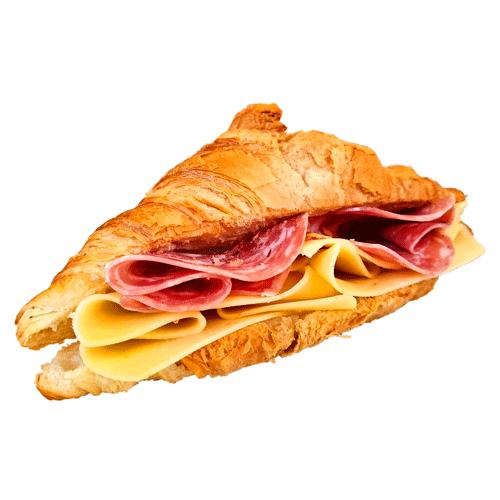 Croissant Ser & Salami