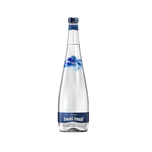 Woda mineralna gazowana 0,3 l