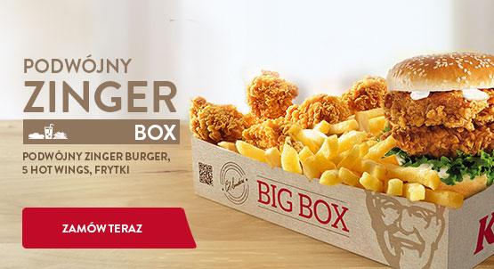 Zinger Podwójny Box Small