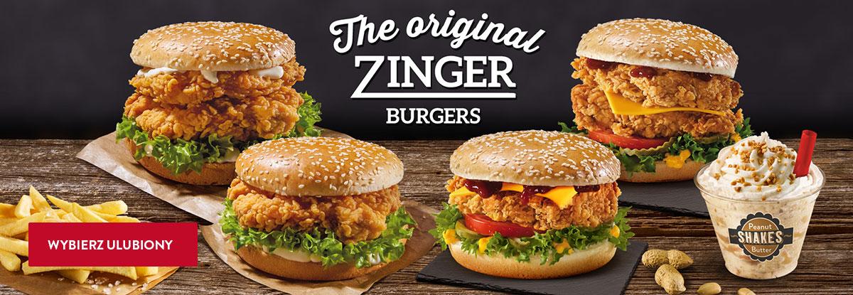Zinger burgers Big