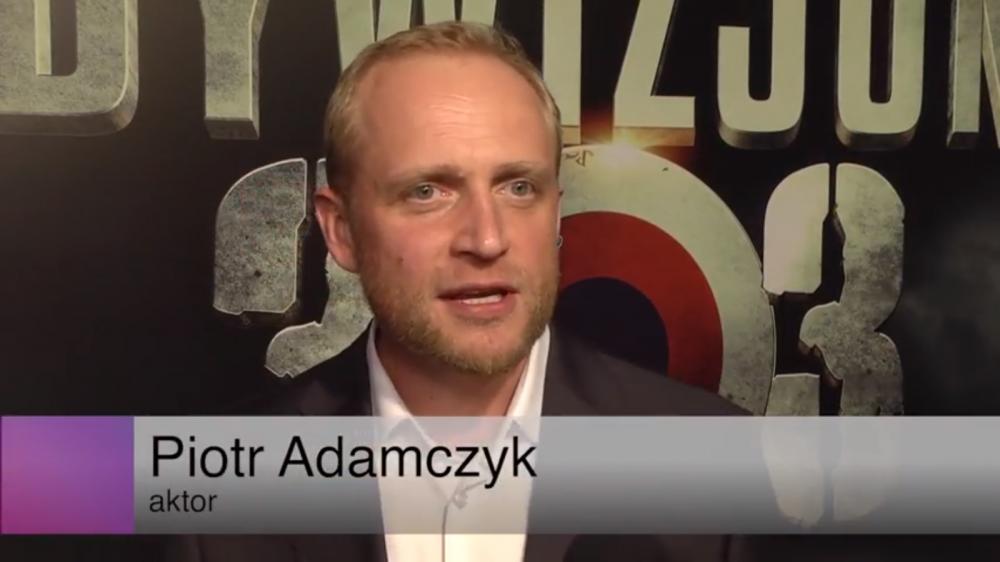 """Piotr Adamczyk o swoim nowym filmie """"Dywizjon 303. Historia Prawdziwa"""""""