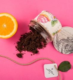 Veganic, Orange Coffee Scrub 200ml Thumbnail $i