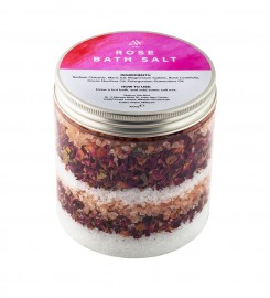 Veganic, Rose Bath Salt 1000g Thumbnail $i