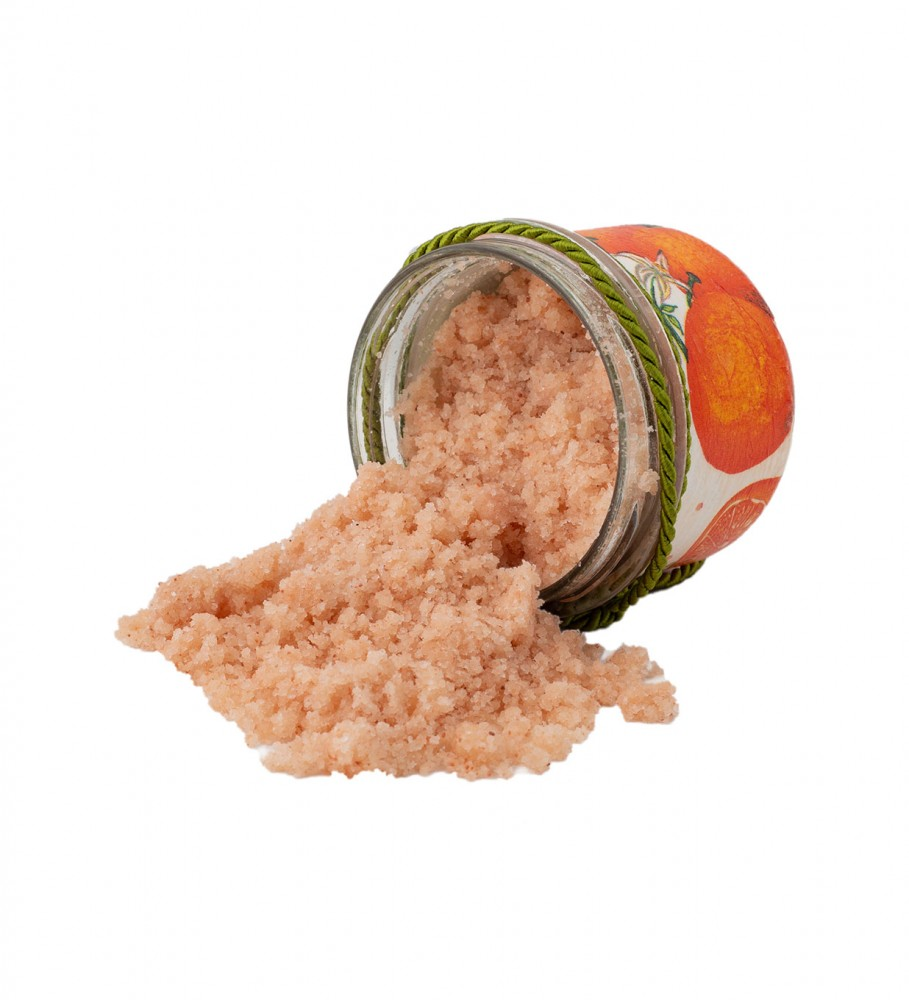 Veganic, Orange Salt Scrub 200ml Image $i