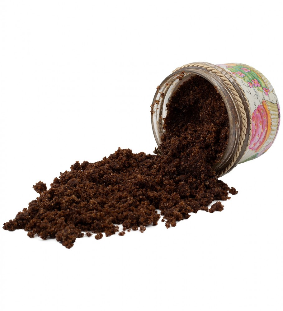 Veganic, Orange Coffee Scrub 200ml Image $i