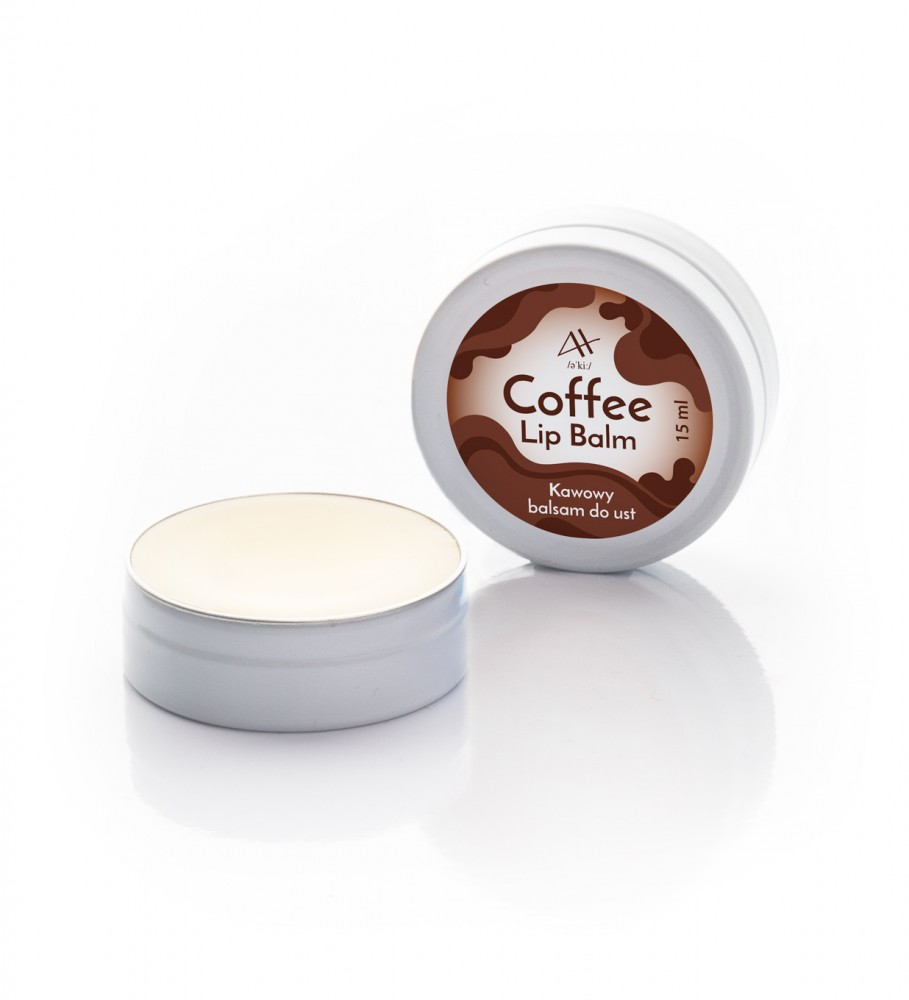 Veganic, Coffee Lip Balm 15 ml Image $i