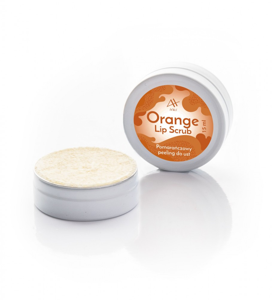Veganic, Orange Lip Scrub 15 ml Image $i