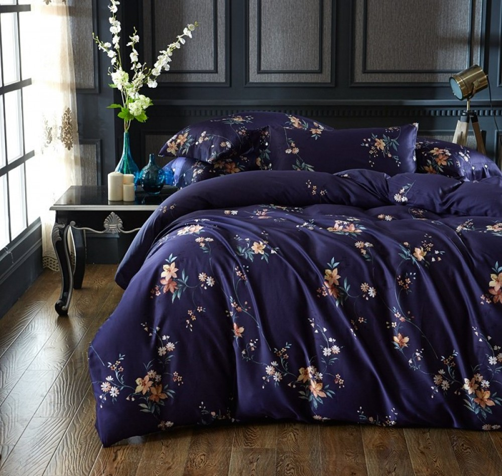 After Fashion, Deep Blue Bed Linen Set Image $i