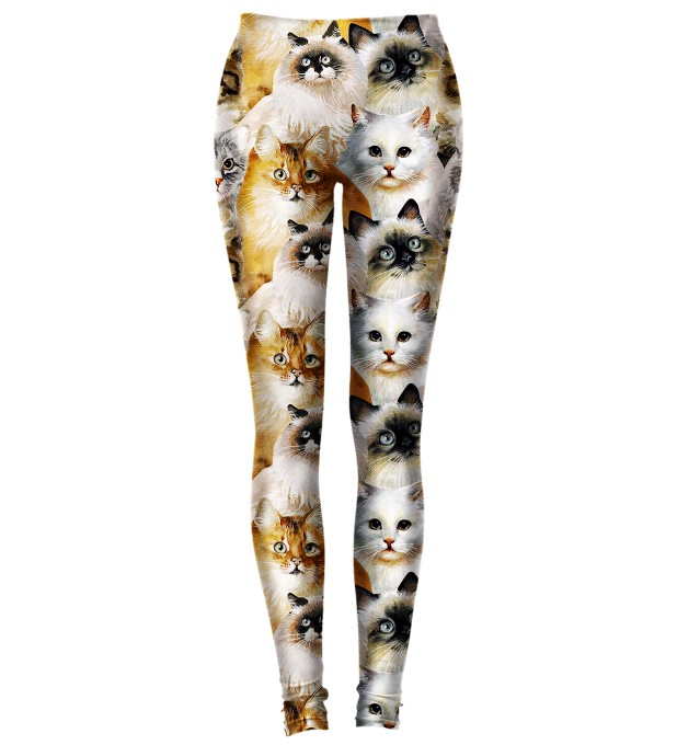CAT HEADS LEGGINGS Miniatury 1