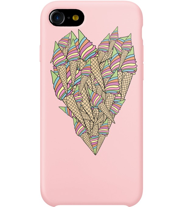 ICE-CREAM HEART PHONE CASE Thumbnail 1