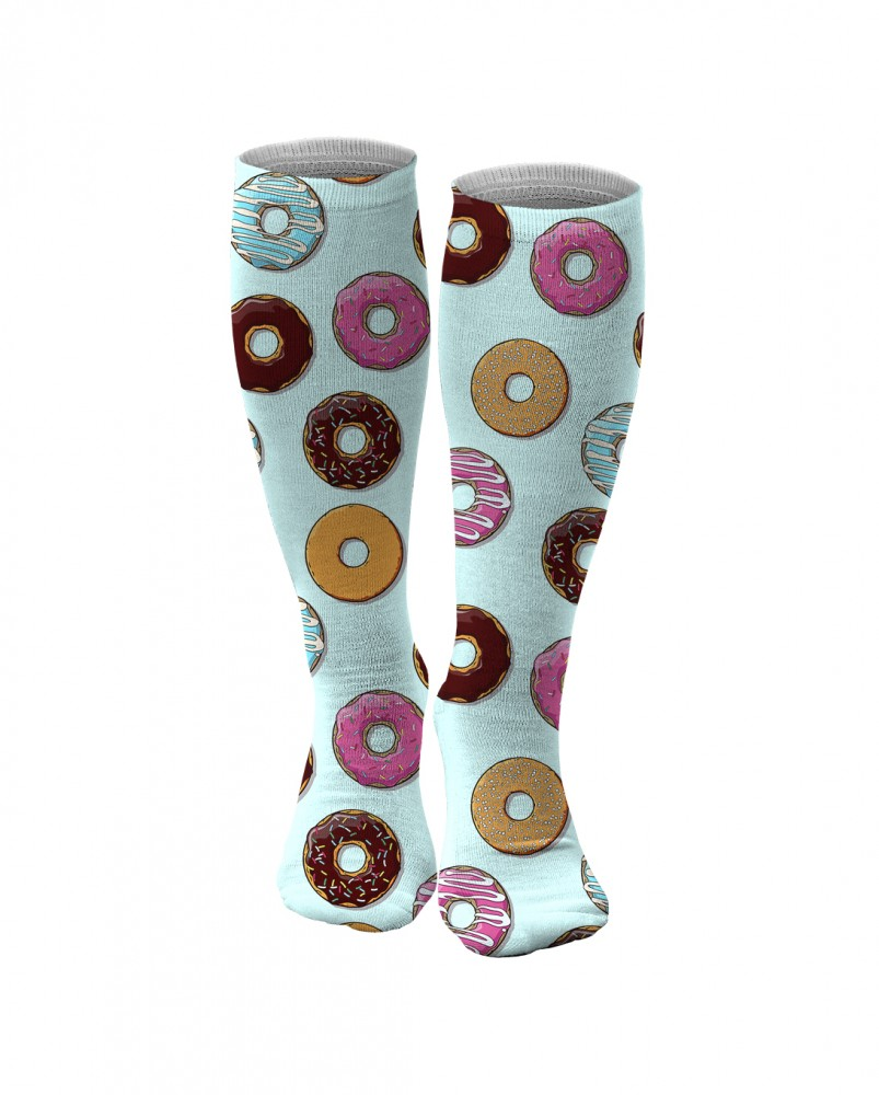 Aloha From Deer, DONUTS KNEE SOCKS Image $i