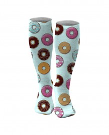 Aloha From Deer, DONUTS KNEE SOCKS Thumbnail $i
