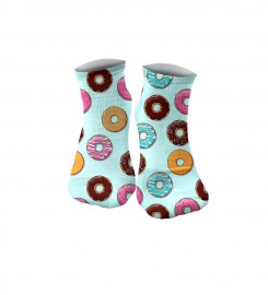 Aloha From Deer, DONUTS SOCKS Thumbnail $i
