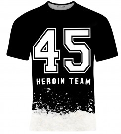 Aloha From Deer, T-SHIRT HEROIN TEAM Miniatury $i