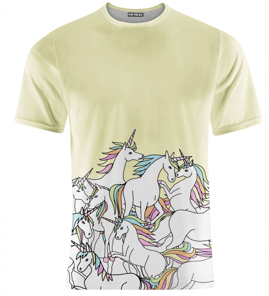 Aloha From Deer, UNICORN T-SHIRT Image $i