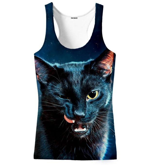 BLACK CAT TANK TOP Thumbnail 1