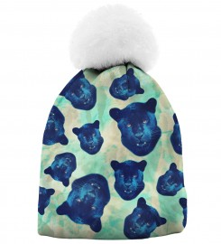 Aloha From Deer, PANTHER HEADS BEANIE Thumbnail $i