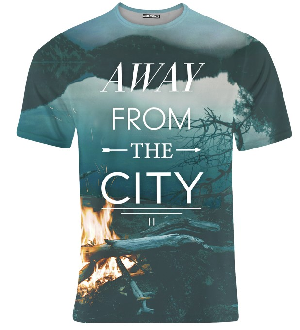 AWAY FROM CITY T-SHIRT Thumbnail 1
