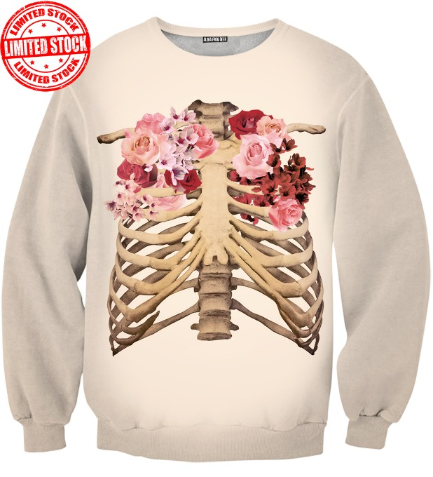SKELETON CHEST SWEATER Thumbnail 1