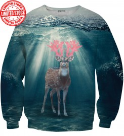 Aloha From Deer, WATER DEER SWEATER Thumbnail $i