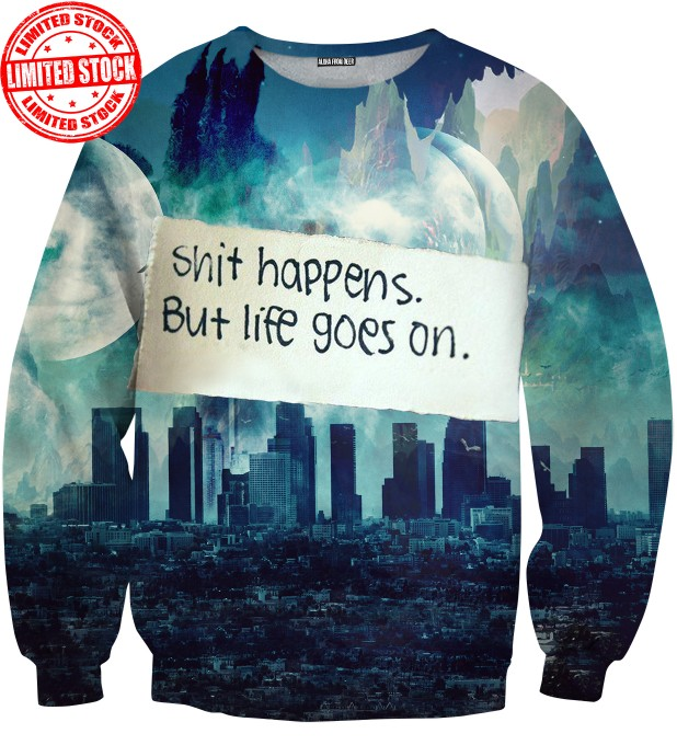 SHIT HAPPENS SWEATER Thumbnail 1