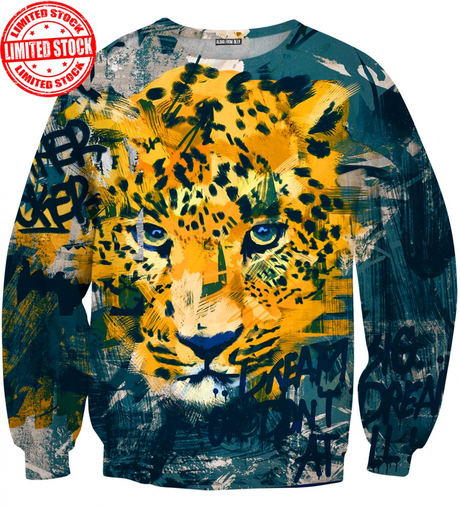 Aloha From Deer, LEOPARD SWEATER Image $i