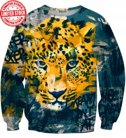 Aloha From Deer, LEOPARD SWEATER Thumbnail $i