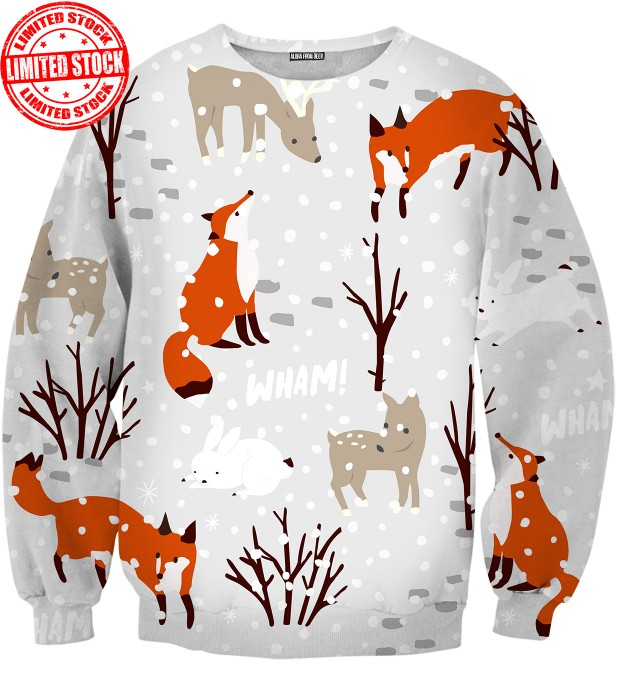 BLUZA WHAT DOES THE FOX SAY? Miniatury 1