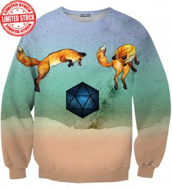 Aloha From Deer, WILD FOXES SWEATER Thumbnail $i