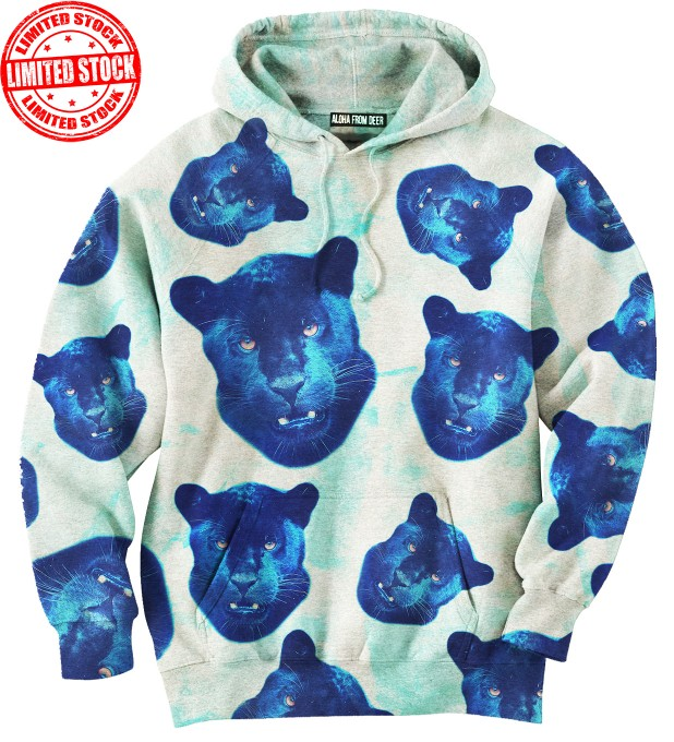 PANTHER HEADS HOODIE Thumbnail 1