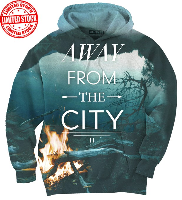 AWAY FROM CITY HOODIE Miniatury 1