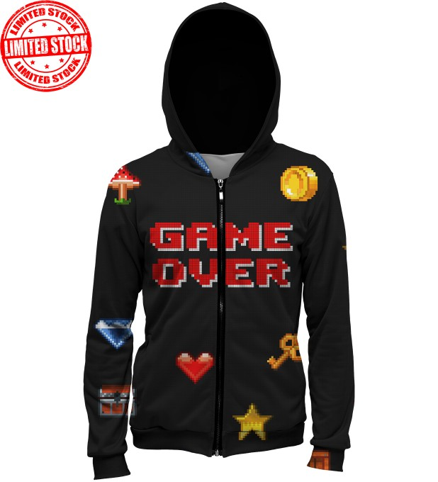 GAME OVER HOODIE Thumbnail 1