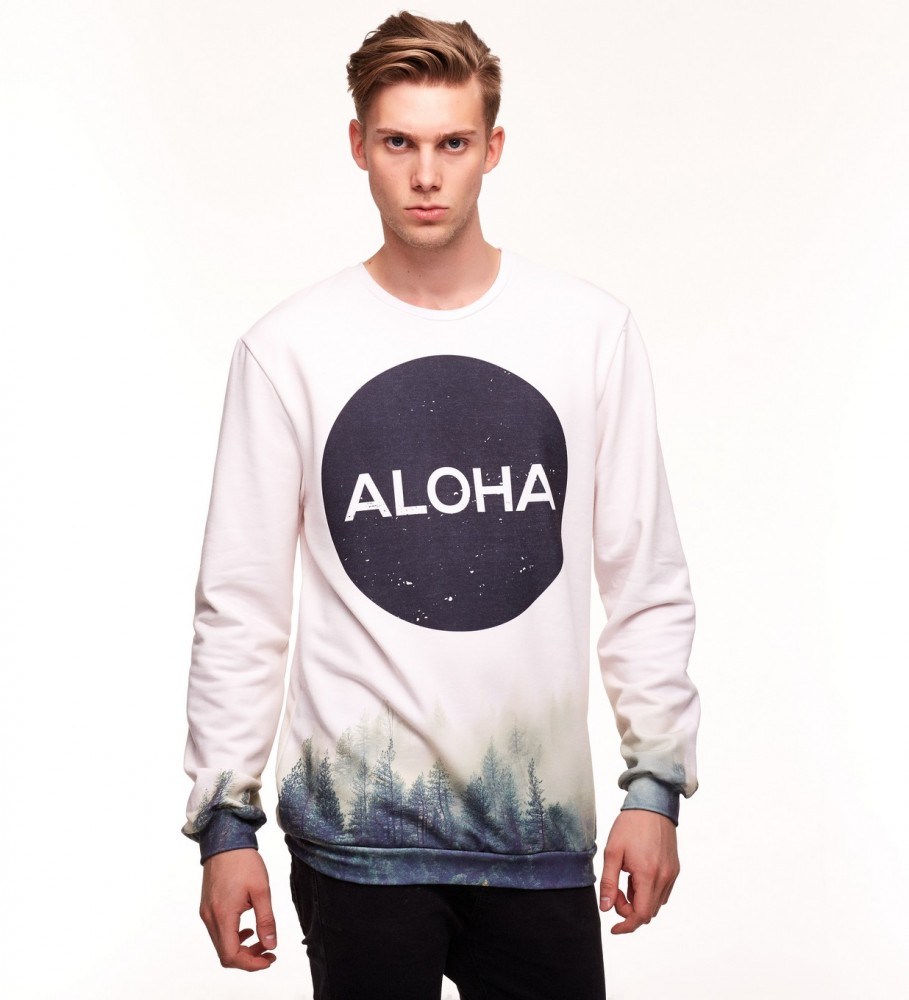 Aloha From Deer, CIRCLE WOODS SWEATER Image $i