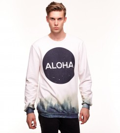 Aloha From Deer, CIRCLE WOODS SWEATER Thumbnail $i