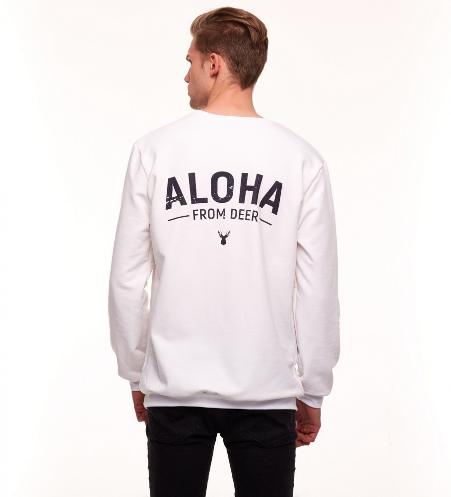 Aloha From Deer, CAMPUS DEER SWEATER Image $i