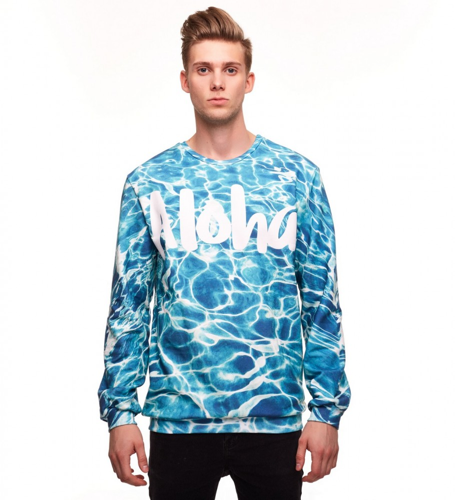 Aloha From Deer, WATER CHILL SWEATER Image $i