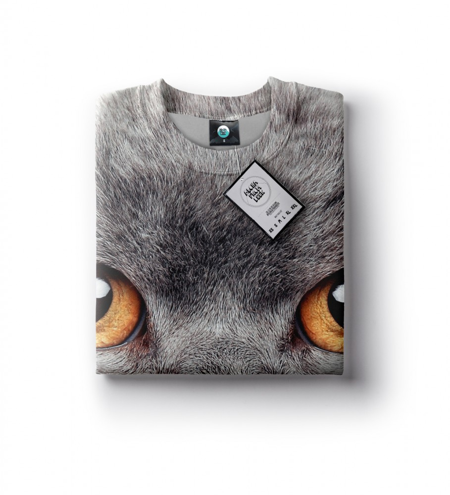 Aloha From Deer, BRITISH CAT SWEATER Image $i