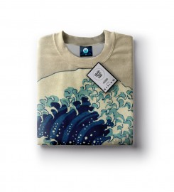 Aloha From Deer, GREAT WAVE SWEATER Thumbnail $i