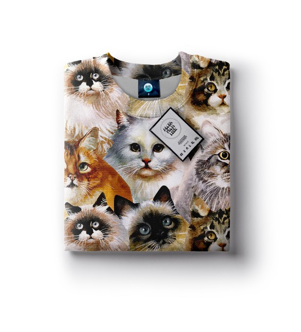 CAT HEADS SWEATER Thumbnail 2