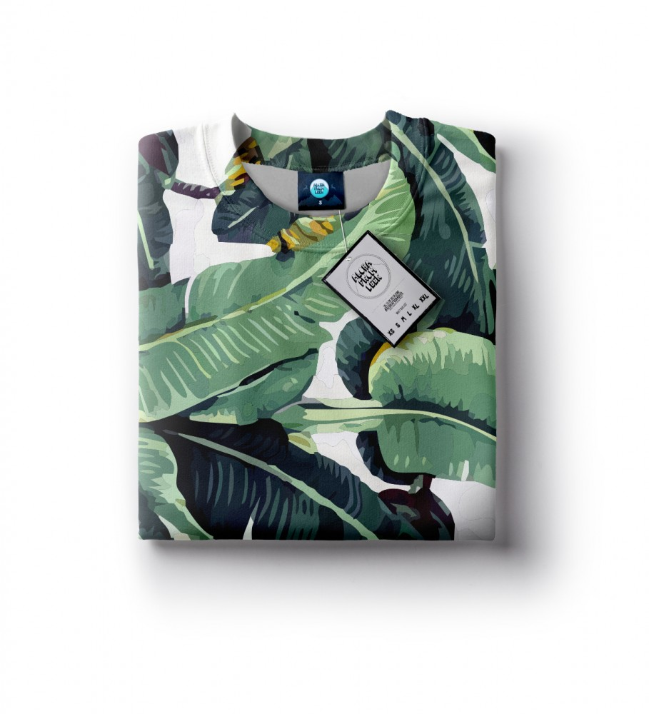 Aloha From Deer, WATERCOLOR JUNGLE SWEATER Image $i