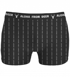 Aloha From Deer, FK YOU BLACK UNDERWEAR Thumbnail $i