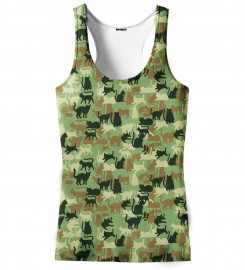 Aloha From Deer, CAMO CATS TANK TOP Thumbnail $i