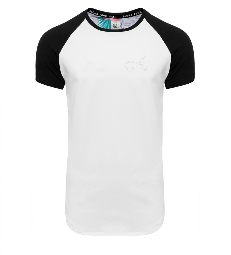 Aloha From Deer, Cotton Raglan T-Shirt White Image $i
